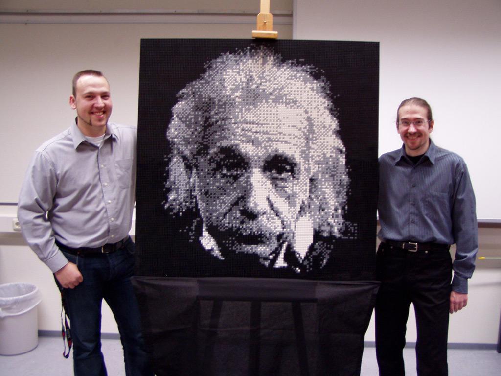 PicToBrick - Mosaic Gallery: Einstein