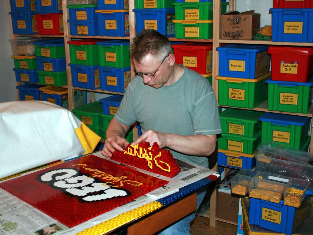 PicToBrick Mosaic Gallery Lego System Logo